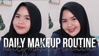 MY DAILY MAKEUP ROUTINE 2018!