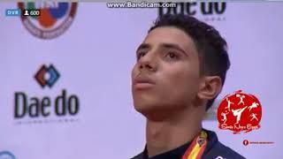 الطالب : عبد الله هشام بطل العالم للناشئين في الكاراتيه لحصوله على الميدالية الذهبية اسبانيا 2017 ✌✌
