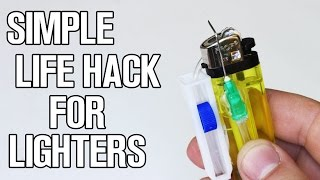 Simple Life Hack for Lighters