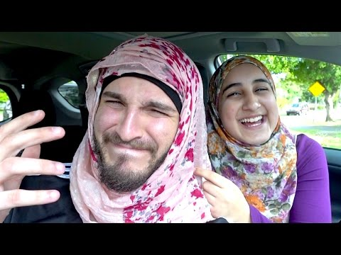 BEING A MUSLIM GIRL FOR A DAY!!