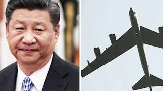 China sends STARK WARNING to Trump after 'NUCLEAR-CAPABLE' planes fly over South China Sea