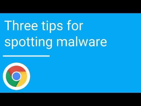 Three tips for spotting malware