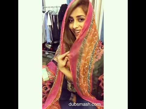 dubmash desi pakistani girl with mehndi laga k rakhna