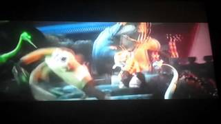 Kai and evil krane and mantis vs shifu tigress monkey and viper