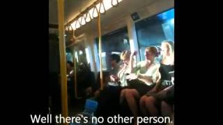 Another Abusive Drunk Fat Aboriginal Woman On Train