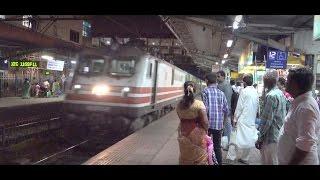 Superfast Mumbai Central Indore Duronto Express Tearing Down Dadar Railway Station, Mumbai