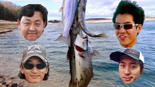 EATING LAKE TROUT?!?! Catch n Cook with the Asian Invasion (ft. ExtremePhillyFishing)