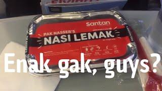 Nasi Lemak Pak Nasser | Review Makanan Pesawat AirAsia | Biar Hemat Beli Online