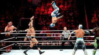 WWE Komik Montaj Part 1 (The Lucha Dragons & New Day vs. Cesaro & Kidd ,The Ascension)