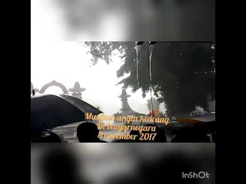 Hujan dan angin kencang di Banjarnegara 8 November 2016