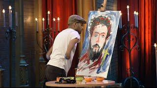 Best of Ugram Ujjwalam 2 | Painting without fingers!! | Mazhavil Manorama