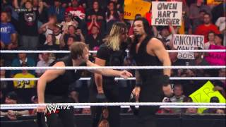 The end of The Shield (wwe)