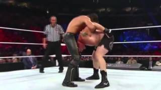 Seth Rollins vs Brock Lesnar   Battleground 2015   Highlights