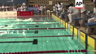Swimmers from across Middle East compete at Arab Championships