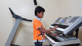 Kaho Na Pyar Hai on Keyboard by Vishwaraj Vinayakumar INSTRUMENTAL