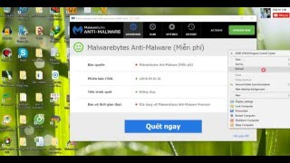 Hướng dẫn tạo bản quyền Malwarebytes Anti Malware  2016