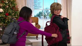 Lug North/South Convertible Tote w/ RFID - Via on QVC