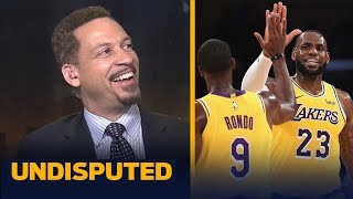 Chris Broussard thinks LeBron is motivated to play at the 'LeBron James' level   NBA   UNDISPUTED