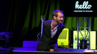 Life Without Limbs - Nick Vujicic at CityLife Church