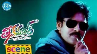 Teen Maar Movie Scenes || Pawan Kalyan, Anna Lezhneva Romantic Scene