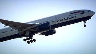 برخورد یک پهپاد با یک هوایپمای مسافربری در فرودگاه لندن