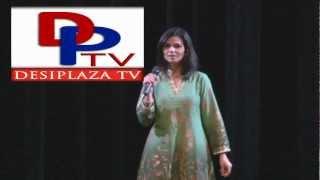 Miss. Nasreen singing a Hindi song at Seva Charity Talent Show by CRY 2012.v