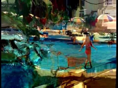 Dimple Kapadia in Red Bikini from the movie Bobby