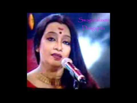 Rangiye diye jao || রাঙ্গিয়ে দিয়ে যাও || Swagatalakshmi Dasgupta (HD)