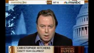 Christopher Hitchens  On Morning Joe discussing Obama's Nobel Peace Prize