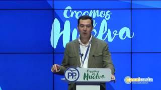 Manuel A. González, reelegido presidente del PP de Huelva