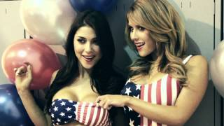 UFC Octagon girls Brittney Palmer and Arianny Celeste in sexy behind the scenes video - FHM (UK)