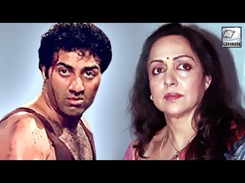 Xxx Mp4 Did Angry Sunny Deol ATTACK Hema Malini With Knife REVEALED 3gp Sex