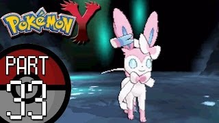 Pokemon X and Y - Part 33: Reflection Cave | Eevee and Braixen Both Evolve!