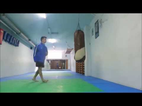 Kick boxing Entrenamiento con el saco