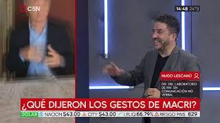 ¿Qué Dijeron Los Gestos De Macri?