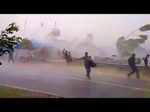 Ngerii..!! Detik-detik ANGIN PUTING BELIUNG di Banjarnegara
