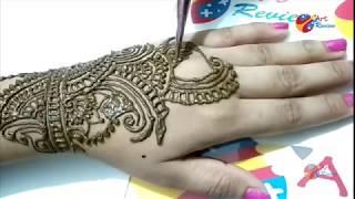 EID Fastival special easy henna mehndi designs for hands Ramadan 2018 Part III