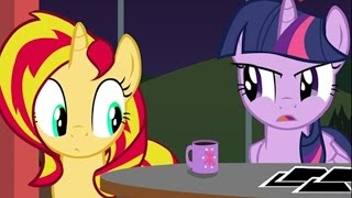 [MLP Comic Dub] Pinkie Says Goodnight: Twilight and Sunset Edition (comedy)