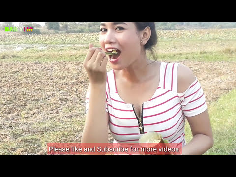 Awesome Sexy Girl Cooking COCA COLA With Village Eggs - Enjoy Cooking Eggs my Country- Easy to Cook