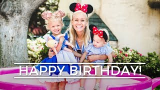 LUCY'S 4TH BIRTHDAY || Disneyland Vlog