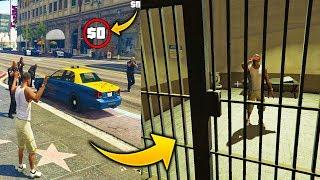 ¿Que Pasa Si Nos Arresta la Policia Y No Tenemos Dinero para Pagar la Fianza? GTA 5
