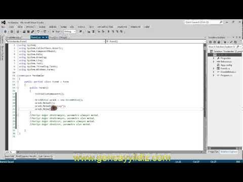 C# Nesne Tabanlı Programlama - Metod Kavramı