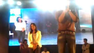 Swetha Mohan and Aalaap Raju in SRM (14.10.12)