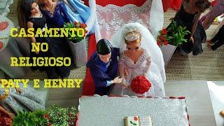 Casamento do religioso - Paty e Henry