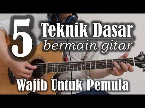 5 Teknik dasar bermain gitar wajib untuk pemula
