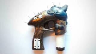 Steampunk Bubble Gun