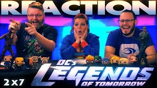 Legends of Tomorrow 2x7 REACTION!!