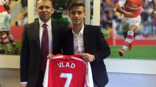 Vlad Dragomir ► Welcome To Arsenal ● Goals & Skills ● 2015