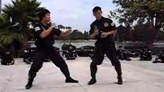 Chosun Ninja - Instructor Competition Trick Kicks Exercises