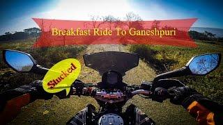 Stucked ! Vasai Marathon ! Ganeshpuri ! Usgaon Dam ! Breakfast Ride
